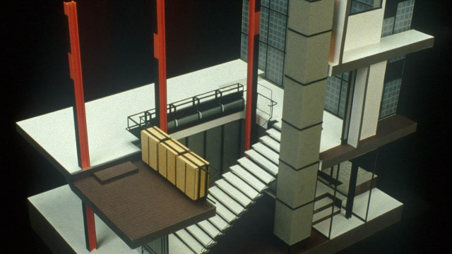 Pierre Chareau Maison De Verre Paris France 1931