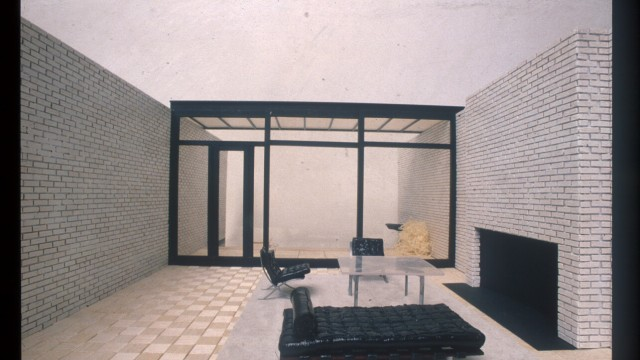 Philip Johnson Rockefeller Guest House New York USA