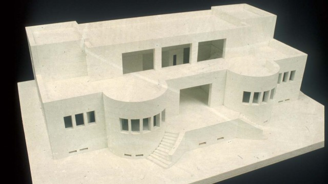 Adolf Loos, Villa for Verdier, Le Lavandou, France, 1923