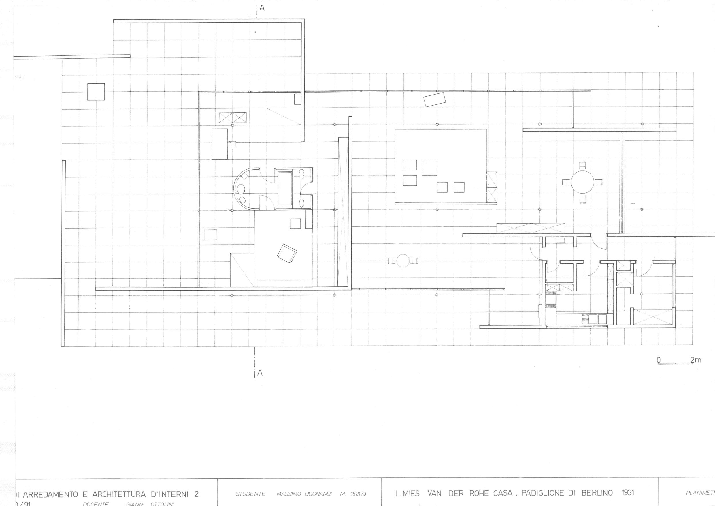 Beautiful House Plans With Storage #2: Mies_1931_casamodello_0015.jpg