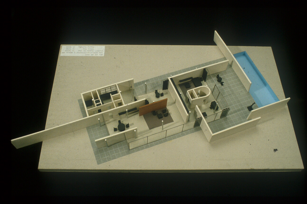 Alvar aalto house interior - Mies Van Der Rohe Exhibition House Berlin Germany 1931