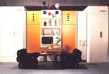 Joe Colombo, Total furnishing unit, Museum of Modern Art (New York), 1972